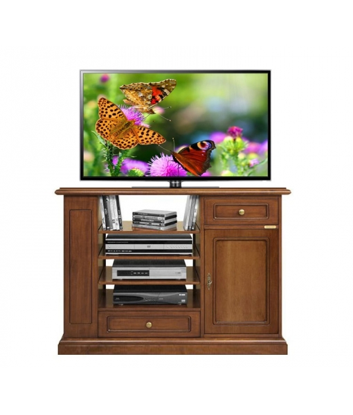 Multifunctional tv unit in wood for living room. Sku 4650-QP