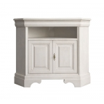 lacquered tv corner cabinet, corner cabinet, white cabinet, white tv corner cabinet, white tv cabinet, tv stand, white furniture, living room furniture