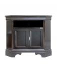 black corner tv cabinet, black cabinet, corner cabinet in wood, black furniture, tv stand living room corner, tv corner, living room furniture
