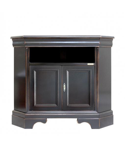 Black corner tv cabinet. Sku. 488-N