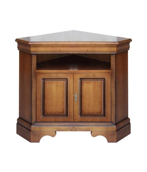 corner tv stand, corner cabinet, wooden corner cabinet, cabinet, tv corner cabinet, tv stand in wood, living room furniture,, classic furniture