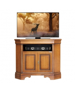 corner tv stand, corner cabinet, wooden corner cabinet, cabinet, tv corner cabinet, tv stand in wood, living room furniture,, classic furniture