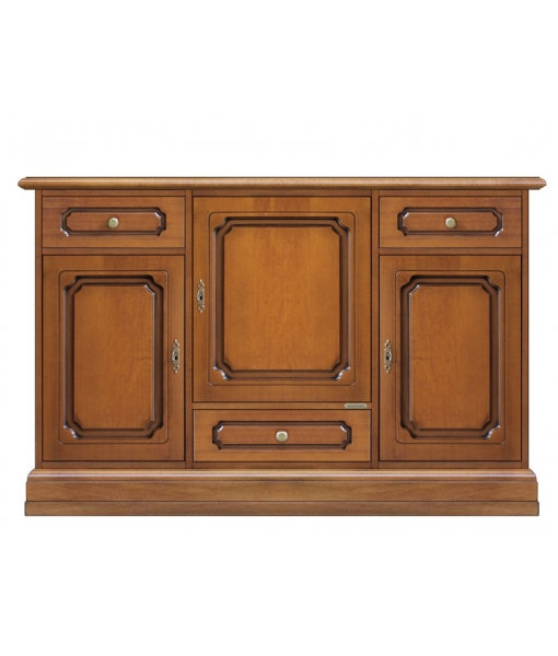dining room sideboard with plinth like base. Sku 5040-S