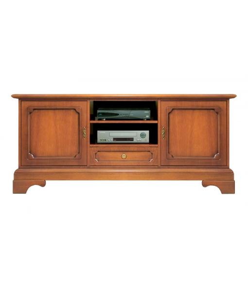 Classic Tv entertainment unit. Living room cabinet. Sku 6059-LB