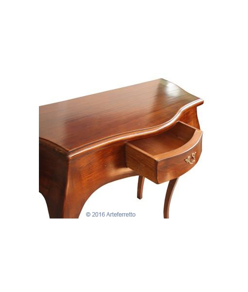 classic shaped console table, wooden console table, classic console table, entryway furniture, classic style, wooden console table