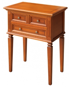 Inlaid small cabinet, side table, classic small cabinet, cabinet in wood, cabinet with drawers, dining room furniture, entryway furniture, classic style furniture,