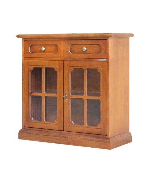 Classic glass doors sideboard. Sku. 809-276