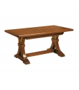 extendable trestle dining table, extendable table, wooden table, dining table, dining room furniture, trestle table, rectangular table, wooden table, kitchen table, classic table, solid wood table