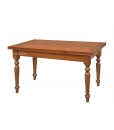 extendable table, rectangular table, dining table, wood table, wood furniture, dining room furniture, Arteferretto