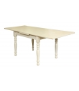 extendable rectangular table, extendable table, table with extensions, kitchen table, dining table, lacquered table, kitchen furniture, classic table, wooden table