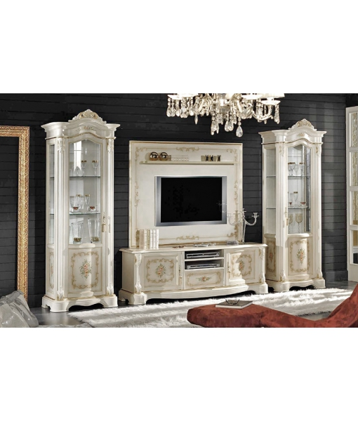 Decorated Classic Tv Cabinet In Wood Ferrettohome