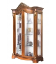 lime wood display cabinet, display cabinet, living room furniture, solid wood showcase, classic display cabiner, wooden display cabinet, classic furniture