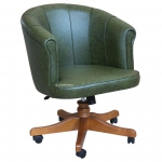 leather swivel armchair, sviwel armchair, office armchair, upholstere armchair,