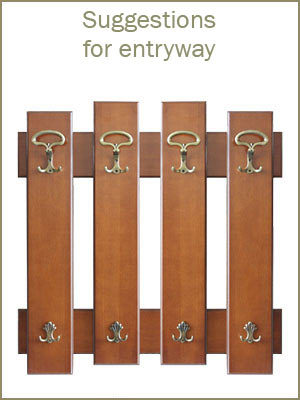 Entryway furniture, hat and coat rack, wooden entryway furniture, wood coat stands