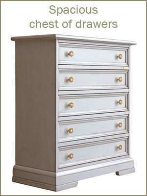 Chest of drawers category, spacious dressers, wooden chest of drawers, bedroom furniture, solid wood piece of furniture