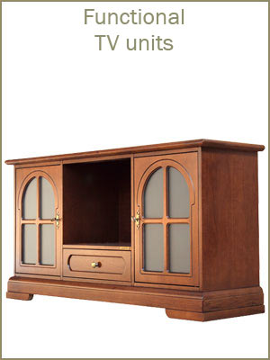 Tv stands category, wooden tv units, handcrafted tv cabinets, functional tv units