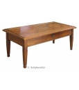 living room coffee table in solid wood, classi rectangular coffee table, wooden coffee table, living room furniture, hallway furniture, hallway coffee table, solid wood, tassellated top