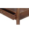 glass top coffee table, living room coffee table, square coffee table, glass top coffee table, wood tea table for living room, Arteferretto