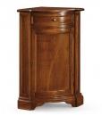corner cabinet, wooden corner cabinet, Walnut wood cabinet