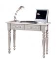 decorated desk in solid wood, wooden desk, solid wood desk, beech wood desk, classic style desk, Italian design desk, office desk in wood