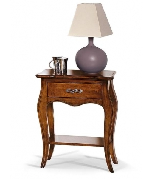 Nightstand with shaped drawer. Product code:  E-984