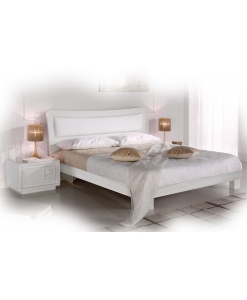 ash wood queen bed, wood bed frame, upholstered bed frame, double bed, ash wood bed, Arteferretto