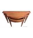 carved console table, console with drawer, funiture for entryway, classic furniture