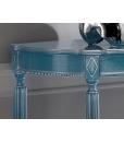 console table, elegant console table, console, console table for entryway, blue console table