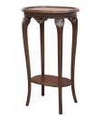 baroque side table, plant stand, oval side table, living room side table,