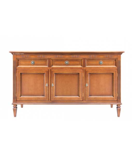 3 door wooden sideboard f1-804