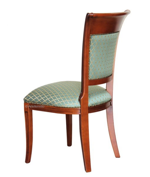 classic chair, wooden chair, elegant chair, solid wood chair, living room chair, dining room chair, kitchen chair, padded chair,
