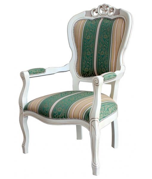 Shabby Chic armchair, Sku: FR-51. Fabric code: ST-24
