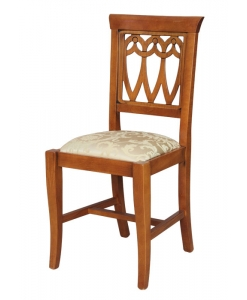 beech wood classic chair, kitchen chair, dining room chair, dining chair, wooden chair, furniture made in Italy, wooden chair, chair, padded chair