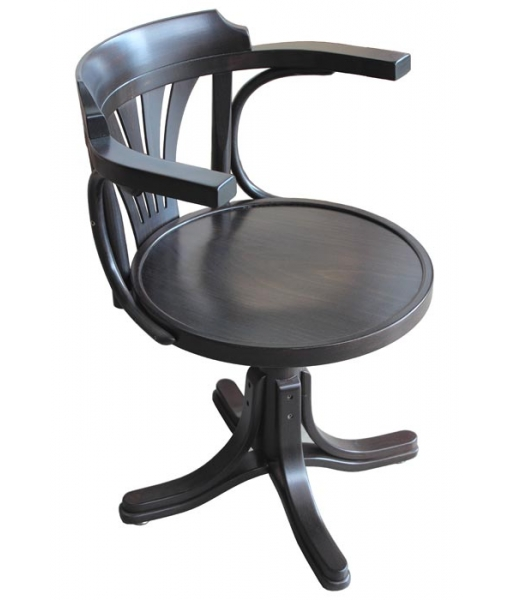 wenge swivel armchair for office and study room, wooden swivel armchair, office chair, office furniture, wooden chair, wooden swivel chair,