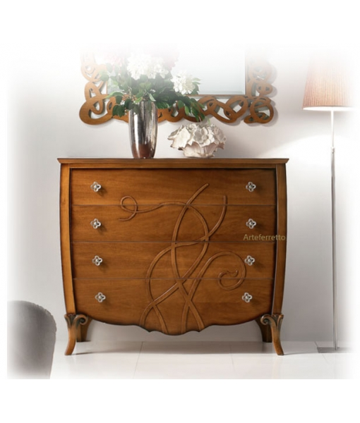 Decorated dresser for elegant bedroom. Sku FS-661