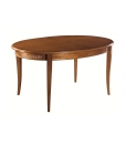 oval extendable table, dining room, solid wood table, saber legs table, oval classic table, 2 extension table, extendable wood table, wooden table, kitchen table