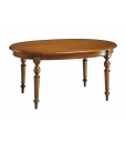 Extendable ovale table, wooden table, oval table, dining table, kitchen table, oval table for dining room, classic table