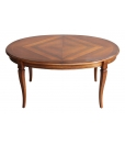 inlaid oval table for dining room, wooden table, kitchen table, classic table, classic style furniture, dining room furniture