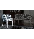 small classic armchair, armchair, wooden armchair, laquered armchair, italian design armchair