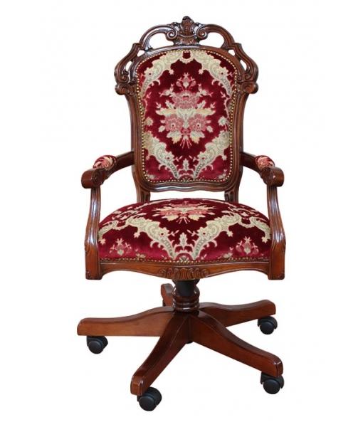 Padded swivel armchair for office. Sku  GM-1