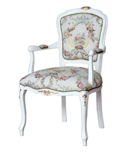 parisian chair, parisian armchair, living room armchair, padded armchair, classic style armchair