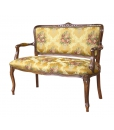 Romeo and Juliet classic sofa, sofa, wooden sofa, classic style furniture, living room sofa, hallway sofa, Italian style sofa