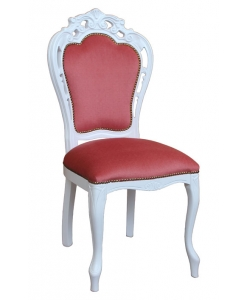 carved chair, solid beech wood chair, wooden chair, living room chair, Italian design chair, upholstered chair, classic style chair, chair with carvings, upholstered chair, dining room chair, traditional chair