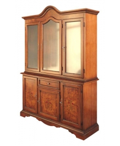 inlaid display cabinet, classic display cabinet, display cabinet, wooden display cabinet, furniture for living room