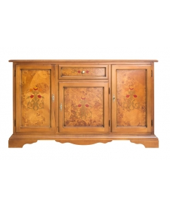 classic inlaid sideboard, classic sideboard, wooden sideboard, elegant sideboard, furniture for living room