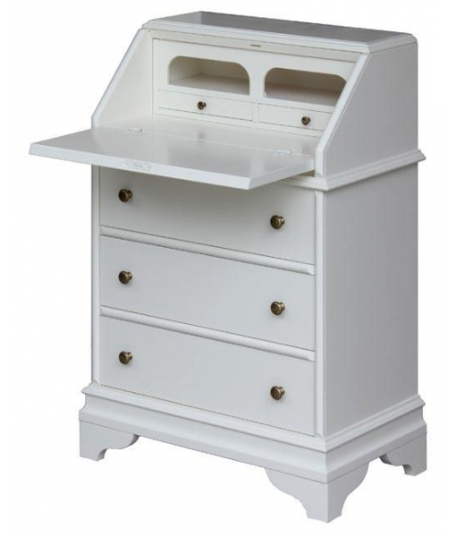flap desk with drawers, wooden desk, wooden cabinet, entryway cabinet, entryway unit, chest of drawers, desk