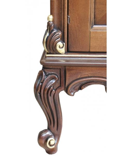 carved sideboard, sideboard, sideboard with carving, sideboard with briar-root, wooden sideboard, elegant sideboard, sideboard for living room
