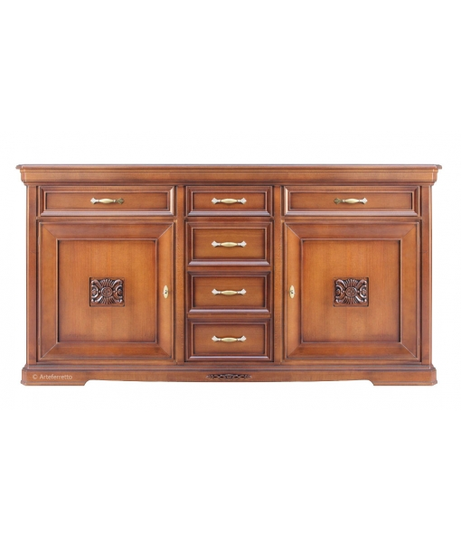 Classic sideboard with inlays. Product code: NB-307