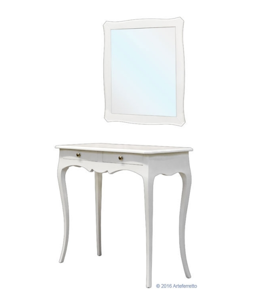 Entryway composition, entryway composition with mirror, hallway furniture, console table, wooden furniture, entryway furniture, classic furniture, console table and mirror, Item n° Off-mir
