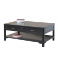 black lacquered coffee table, coffee table, black coffee table